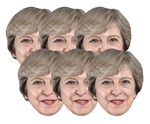 Theresa May Six Pack of Masks