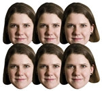 SMP410	Jo Swinson Politician 6 Pack Includes Tabs and Elastic
