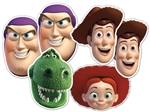 Star Cutouts Toy Story 6 Pack of masks
