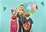 Star Cutouts Muppets Six Pack of Masks with Elastic and Tabs