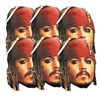 JACK SPARROW MASKS PIRATES OF THE CARIBBEAN