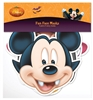 SMP68 Star Cutouts Disney Halloween Party Masks  6 Pack Mickey Vampire, Minnie Witch, Donald Wizard, Ursula, Wicked Witch & Wicked Queen