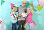Star Cutouts Peppa Pig Party Mask 6 Pack