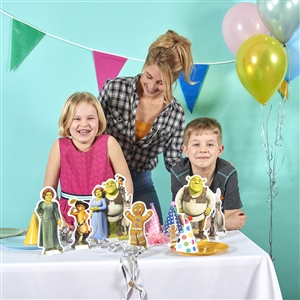 Star Cutouts Table Top Shrek Decoration Party Pack Shrek