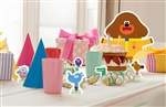 Star Cutouts Hey Duggee & Squirrels Table Top Party Pack