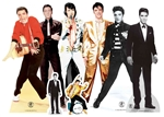 Star Cutouts Elvis Presley T Table Top Party Pack