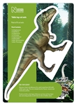 Star Cutouts Natural History Museum Dinosaurs Table Top Pack