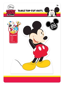 Star Cutouts Mickey Mouse and Friends Table Top Pack Party aka Desktop Cardboard Cutouts