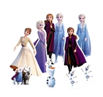 Star Cutouts TT019 Frozen Table Tops aka Table Toppers featuring Anna, Elsa, Olaf Perfect for Fans, Collectors, Parties and Events