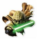 Yoda Wall Mounted Cardboard Cut Out (WMCCO)