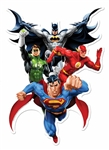 Justice League  (JLA Heroes) Wall Mounted Cardboard Cut Out (WMCCO)