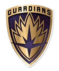 Guardians of the Galaxy Vol 2 Emblem Wall Mounted Cardboard Cut Out (WMCCO)