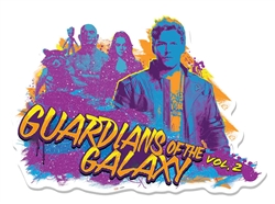 Guardians of the Galaxy Guitar Wall Mounted Cardboard Cut Out (WMCCO) GOTGV2