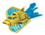 Thunderbird 4 Yellow Underwater Rescue Wall Mounted Cardboard Cut Out (WMCCO)