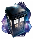 Tardis Time And Relative Dimension In Space Wall Mounted Cardboard Cut Out