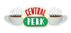 Star Cutouts Central Perk Friends Wall Mounted Cardboard Cutout