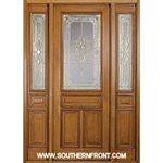 Sonnet 8-0 42 Inch 2/3 Lite Single and 2 Sidelights