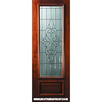 Courtlandt 8-0 42 Inch 3/4 Lite Entry Door - Click Here