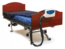 "Lumex Alternating Pressure Mattress System with Active Sensor Technology 78.7"" x 35.4"" x 8"""