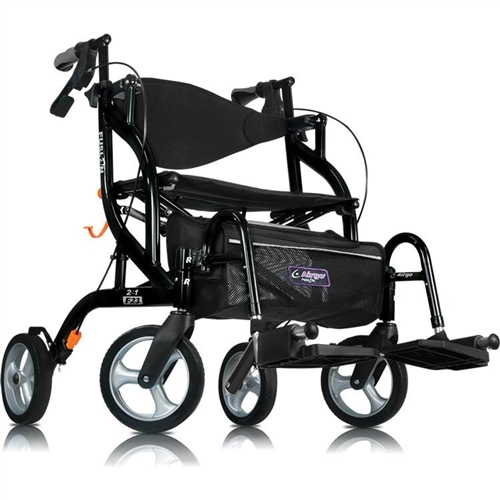 Alternative Views  sc 1 st  Wendyu0027s Walkers & Airgo Fusion Tall Rollator | Transport Wheelchair Rollator ...