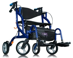 Airgo Fusion Side-Folding Rollator & Transport Chair 935