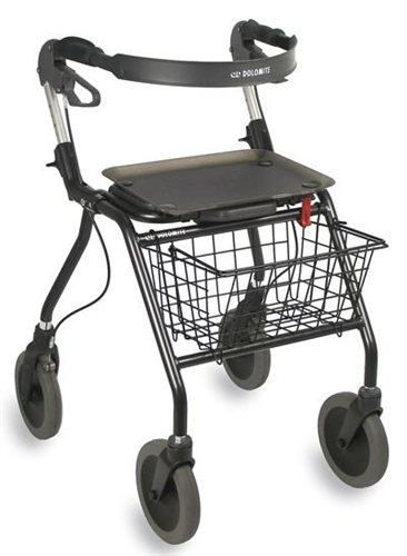 incredible prices 100% quality buy good Dolomite Futura Rollator Tall Handle Height up to 43.5 Inches