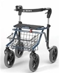 Dolomite Soprano Rollator with 10 inch Wheels