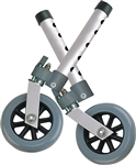 "Drive 5"" Swivel Wheel with Lock & Two Sets of Rear Glides"