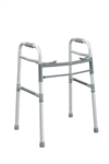 Drive Adult/Junior, Deluxe Folding Walker, Two Button