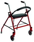 Drive Aluminum Rollator Two Wheeled Walker with Seat