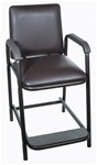 Drive Hip-High Chair, Steel Brown Vein Frame Construction