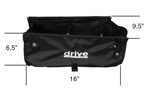 Drive Walker Pouch Tote For 4-Wheel Rollators 544 and 795