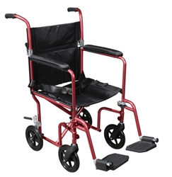 Drive Deluxe Fly Weight Aluminum Transport Chair