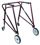 "Drive 9"" Non-Swivel Front Wheels with Inner Legs"