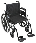 Drive Viper Plus GT - Deluxe High Strength, Lightweight, Dual Axle, Built in Seat and Back Extension