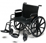 Everest & Jennings Wheelchair Traveler HD Heavy Duty Bariatric 20 inch,22 inch, and 24 inch