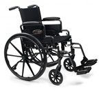 Everest & Jennings Traveler L4 Lightweight Wheelchair 3F020
