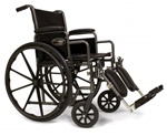 Everest & Jennings Traveler SE Wheelchair Adjustable Seat Height