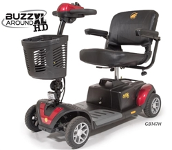 Golden Tech Buzzaround XLHD 4 Wheel Lite Scooter