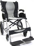 Karman Super Lightweight Transport Ergonomic Wheelchair 18 lbs S 2501