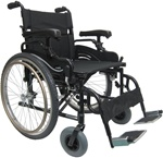 Karman Wheelchair Lightweight Extra Wide 20 inch or 22 inch seat width KM8520
