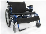 "Karman Bariatric Wheelchair Heavy Duty Extra Wide 22"", 24"", 26"", 28"", or 30"" Seat Width"