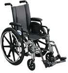 "Drive Viper Pediatric Wheelchair, 12"" or 14"" Seat"