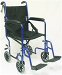 Karman Lightweight Transporter Aluminum Wheelchair LT-2017 and LT-2019