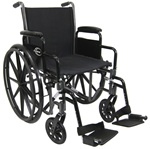 Karman Standard Lightweight Detachable Arm Wheelchair Lt-700