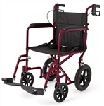 Medline Deluxe Aluminum Transport Wheelchair