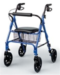 "Medline The Rollator 8"" Wheels"