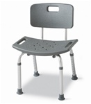 Medline Bath Bench with Back