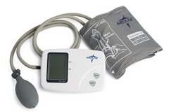 Medline Manual Digital Blood Pressure Monitors MDS3002