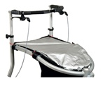 Trionic Nordic Walker Seat/basket rain cover